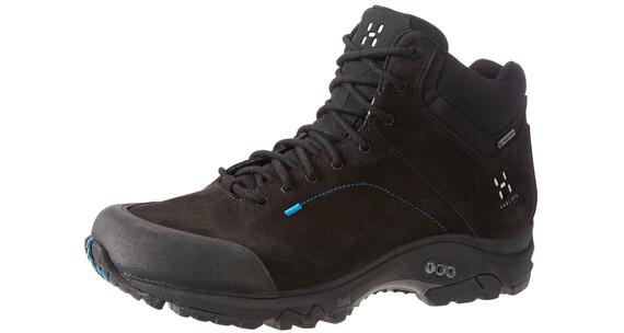 Haglöfs M's Ridge Mid GT Shoes TRUE BLACK/GALE BLUE